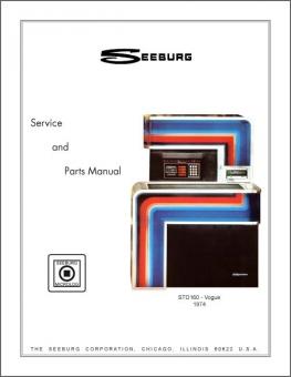 Service Manual Seeburg STD160