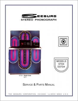 Service Manual Seeburg STD4