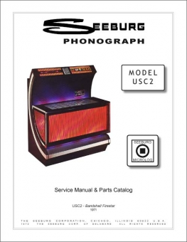 Service Manual Seeburg USC2