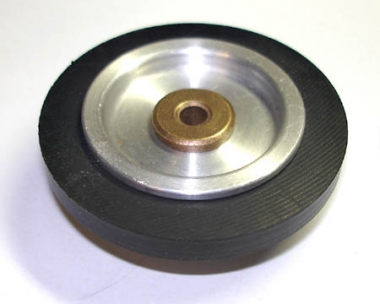 Zwischenrad im Plattentellerantrieb