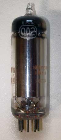 0A2 - Spannungsregelröhre