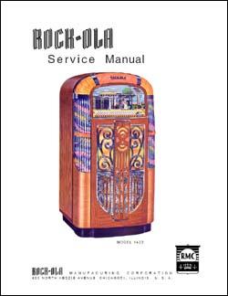 Service Manual Rock-Ola 1422, 1426
