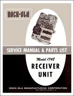 Service Manual Stepper 1748