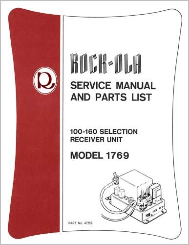 Service Manual Stepper 1769