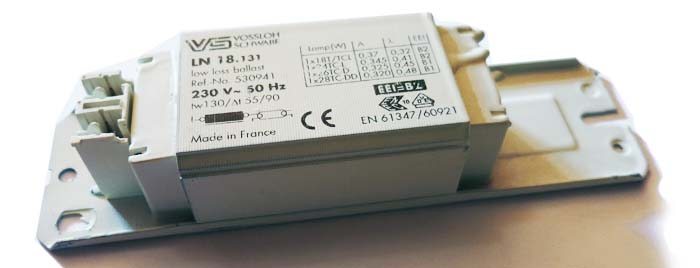 Vorschaltgerät 18W / 230V