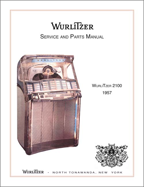 Service Manual Wurlitzer 2100