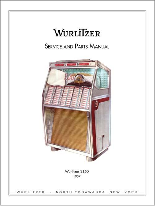 Service Manual Wurlitzer 2150
