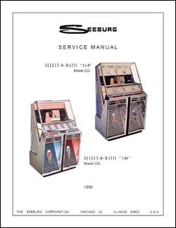 Service Manual Seeburg 220, 222