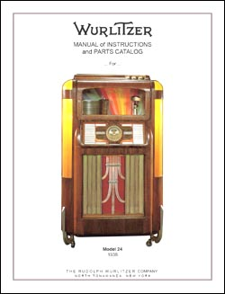 Service Manual Wurlitzer 24, 24A