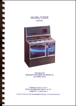Technische Merkblätter Wurlitzer 3500