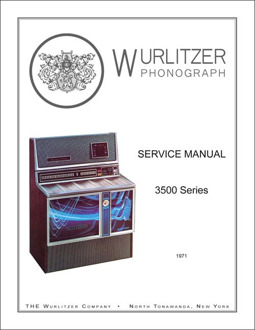 Service Manual Wurlitzer 3500