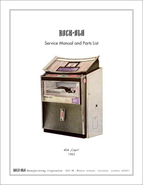 Service Manual 404, English