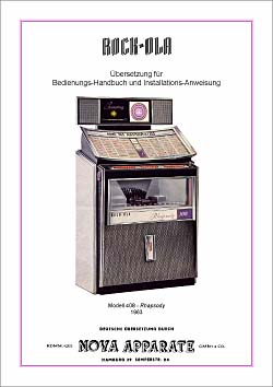 Bedienungs-Handbuch Rock-Ola 408