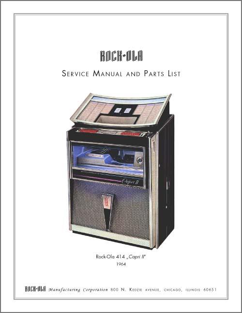 Service Manual 414, 414S