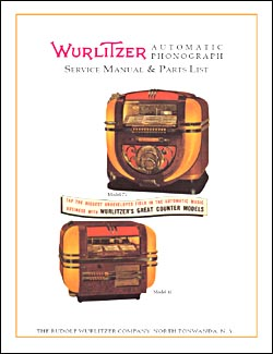 Service Manual Wurlitzer 41 and 71