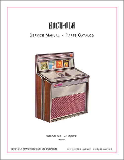 Service Manual Rock-Ola 433
