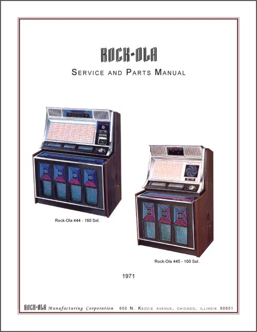 Service Manual Rock-Ola 444 und 445