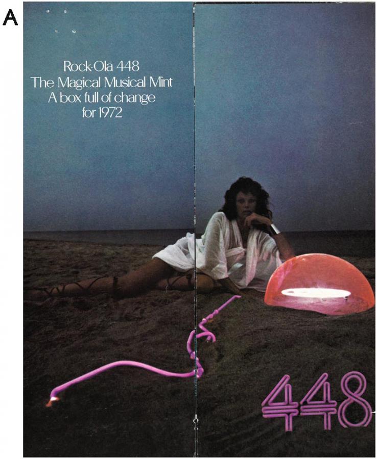 Broschüre Rock-Ola 448