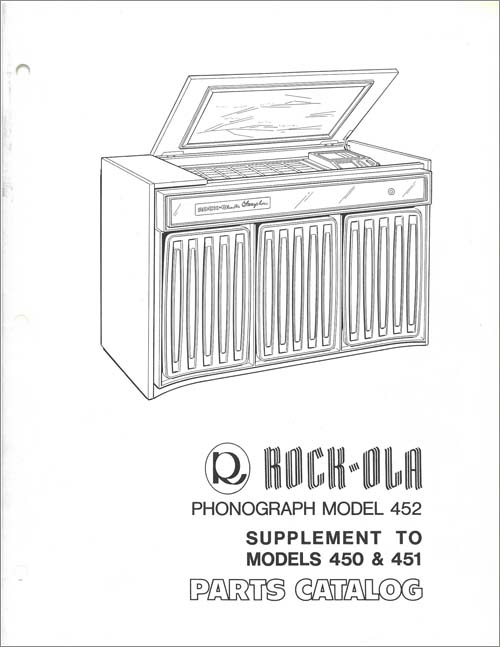 Supplement Rock-Ola 452