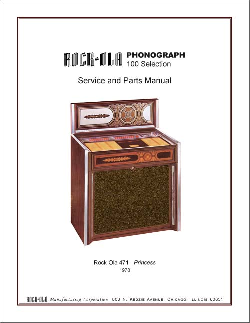 Service Manual Rock-Ola 471