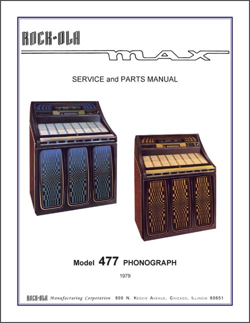 Service Manual Rock-Ola 477