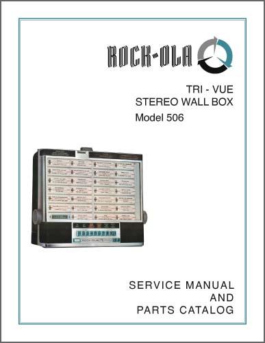 Service Manual Rock-Ola 506