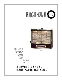 Service Manual Rock-Ola 507