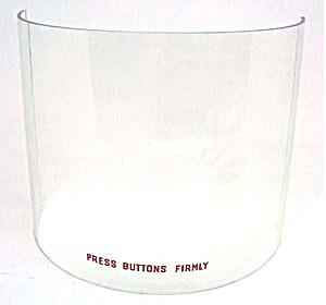 Dome glass 5202, 5210, 5250, 5252