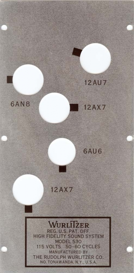 Cover plate amp 530
