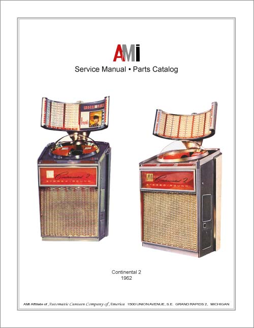 Service Manual AMI Continental 2