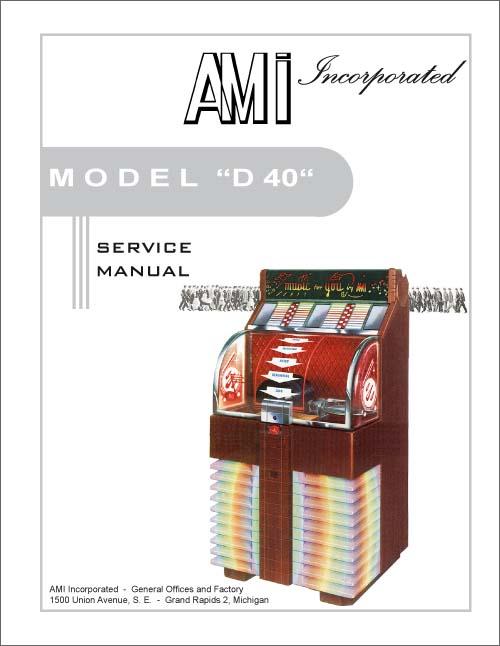 Service Manual AMI D-40