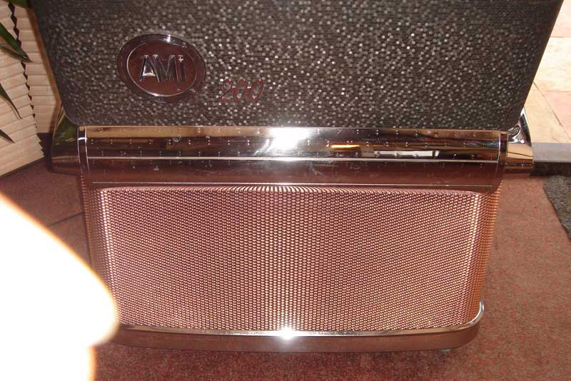 Grill screen AMI H, copper plated