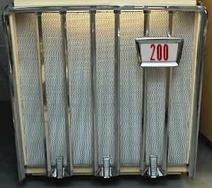 Grill screen AMI J, plain