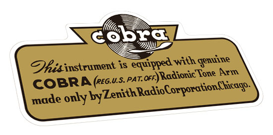 Cobra-Aufkleber
