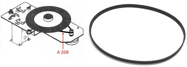 TT-drive belt