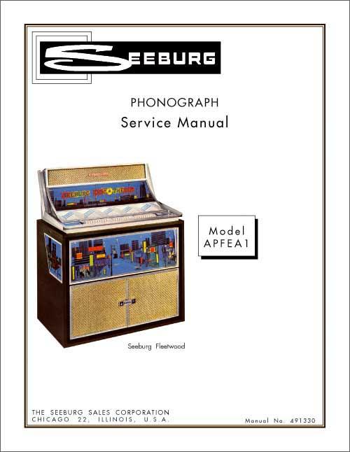 Service Manual Seeburg APFEA1