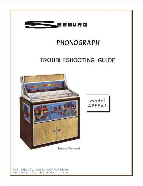 Troubleshooting Guide APFEA1