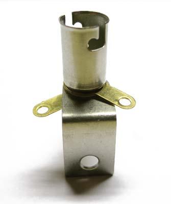 Lamp holder Ba9s with bracket
