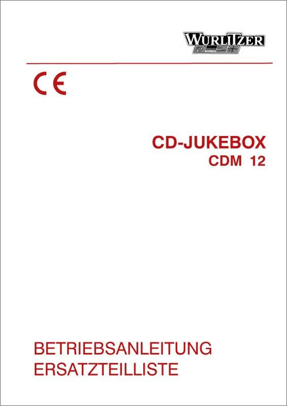 Operating Instructions CDM12