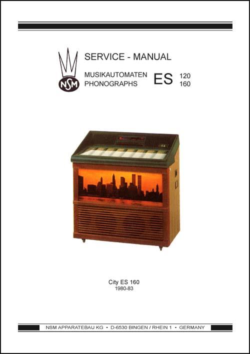 Service Manual City ES160