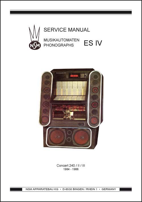 Service Manual  Concert 240