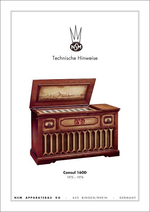 Technische Hinweise Consul 160D