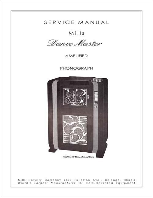 Service Manual Mills Dance Master
