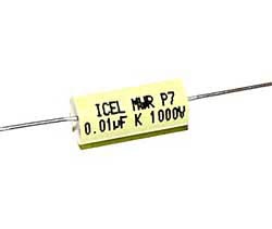 0,01 µF high voltage capacitor, axial