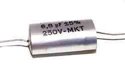 6,8 µF Kondensator für Frequenzweiche