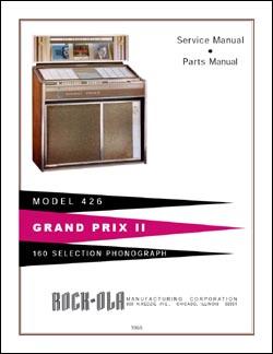 Service Manual Rock-Ola 426