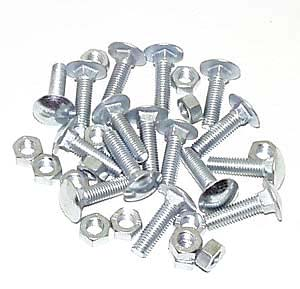 Carriage bolts M6 x 30