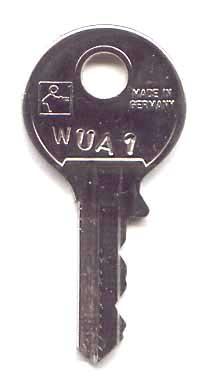 Deutsche Wurlitzer Schlüssel