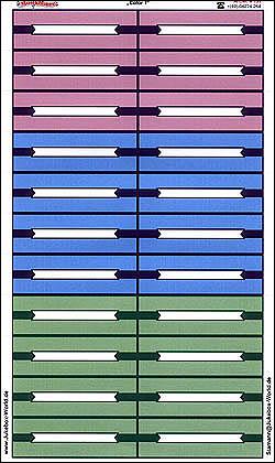 "Titlestrips ""Color 1"""