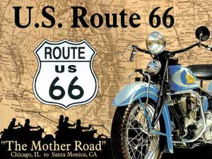 """Magnet """"Route 66"""""""